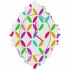 Colour Block Baroque Wall Clock