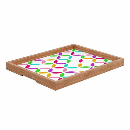 Colour Block Rectangle Tray