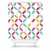 Colour Block Shower Curtain