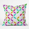 Colour Block Throw Pillow
