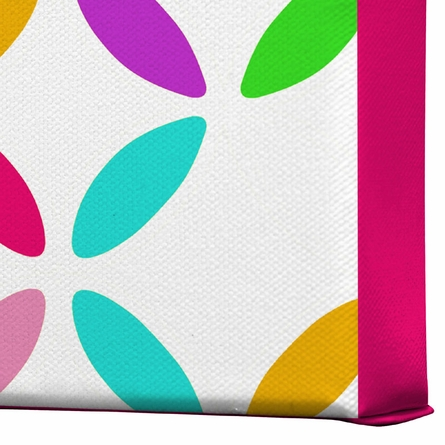 Colour Block Wrapped Canvas Art