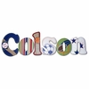 Colson Sports Hand Painted Wall Letters