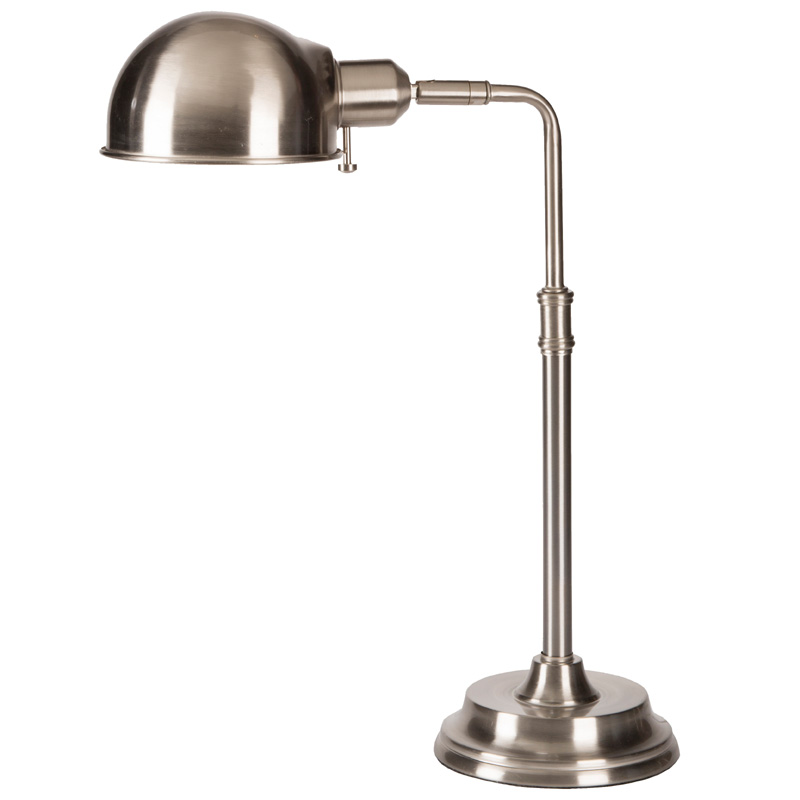 Metal Table Lamps : ... Lights > All Light Fixtures > Colton Brushed Steel Metal Table Lamp