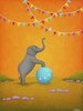 Common Ground Elephant Canvas Reproduction