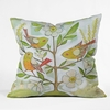 Community Tree Throw Pillow