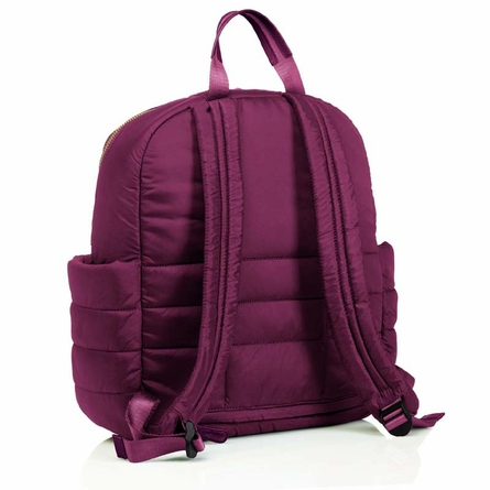 Companion Backpack Diaper Bag in Plum