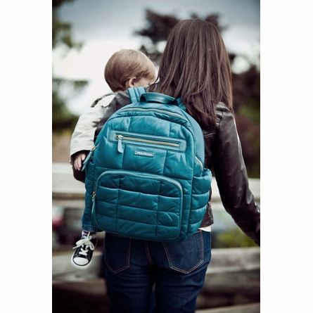 Companion Backpack Diaper Bag in Teal
