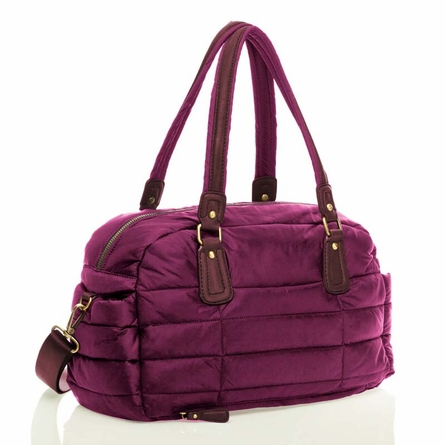 Companion Satchel in Plum