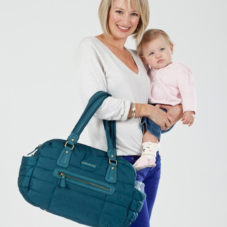 Companion Satchel in Teal