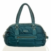 Companion Satchel Diaper Bag in Teal