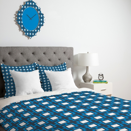 Concentric Square Duvet Cover