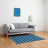 Concentric Square Flat Weave Rug