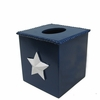 Confederate Star Tissue Box