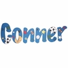 Conner All Star Sports Hand Painted Wall Letters