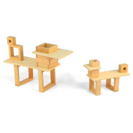 Constructures Wood Blocks - Medium