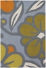 Contempo Flower in Aqua Inhabit Rug