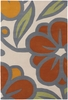 Contempo Flower in Cream Inhabit Rug