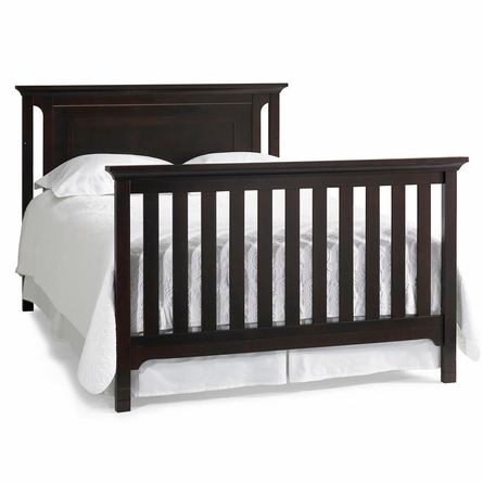 Contemporary Espresso Convertible Crib