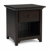 Contemporary Espresso Night Stand