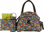 Continental Flair Diaper Bag in Clover