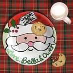 Cookies for Santa Personalized Plate and Mug Set