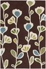Cool Floral Ivy Inhabit Rug