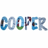 Cooper Nautical Hand Painted Wall Letters