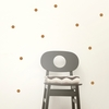 Copper Mini Dots Wall Stickers