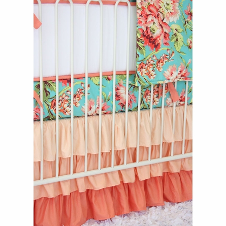Coral Camila Crib Bedding Set