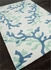Coral Fixation Rug in Sea Green