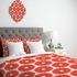 Coral Pop Duvet Cover