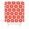 Coral Pop Shower Curtain