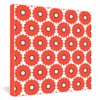 Coral Pop Wrapped Canvas Art