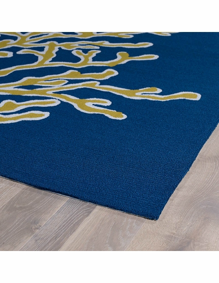 Coral Reef Matira Rug in Blue