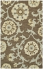 Cornish Floral Rug in Graphite