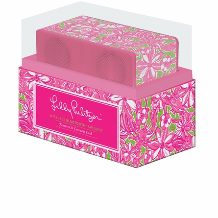 Lilly Pulitzer Coronado Crab Wireless Bluetooth Speaker