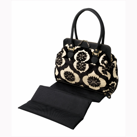 Cosmopolitan Carryall Diaper Bag - Black Forest Cake
