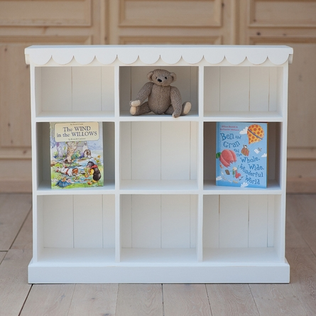 Cottage Book & Toy Shelf