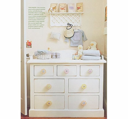Cottage Changing Dresser