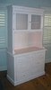 Cottage Changing Dresser & Hutch