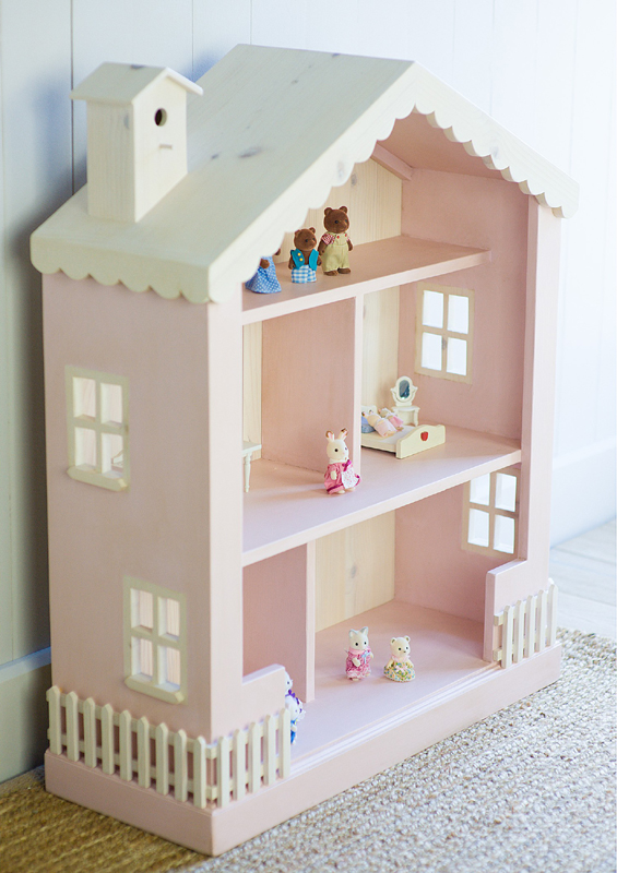 Nursery Bookshelf Dollhouse Bookcase: Kids dollhouse bookcase. Cottage ...