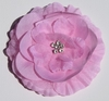 Cotton Candy Bling Buttercup Blooming Fabric Flower