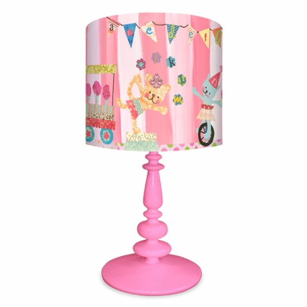 Cotton Candy Circus Alphabet Lamp