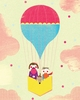 Cotton Candy in the Clouds Art Print