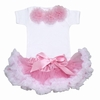 Cotton Candy Pink and White Tutu Set