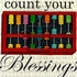 Count Your Blessings Canvas Wall Art