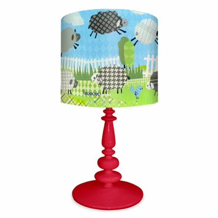 Counting Sheep Blue Lamp