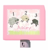 Counting Sheep in Pink Night Light
