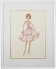 Cover Girl Framed Couture Barbie Art Print