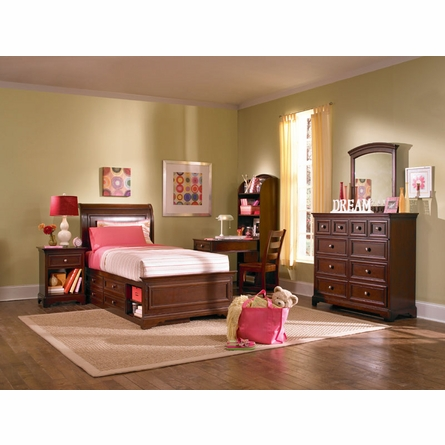 Covington Sleigh Bed